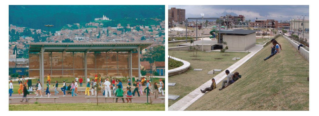 Segundo Premio Bienal Categoría Arquitectura Paisajista XVI Bienal Panamericana de Arquitectura de Quito 2008<br>Primer premio Karl Brunner Diseño Urbano y Paisajismo XX Bienal Colombiana de Arquitectura 2006
