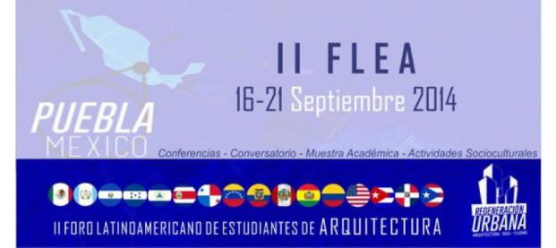 II Foro Latinoamericano de Estudiantes de Arquitectura Puebla México – Conferencista