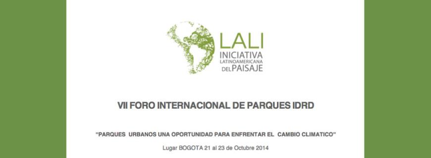 VII Foro Internacional de parques IDRD