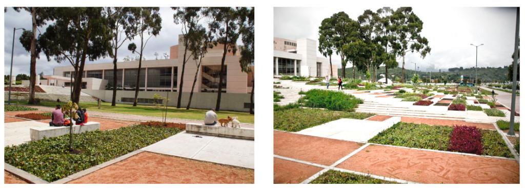 Parque zonal biblioteca Julio Mario Santo Domingo