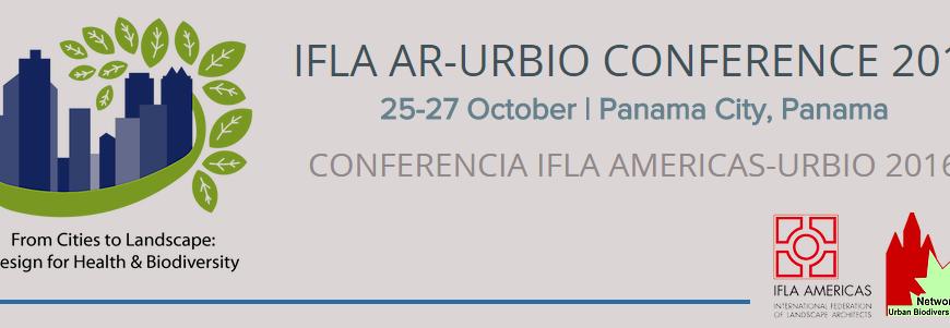 Conferencista – IFLA – AMERICAS URBIO 2016 (25 al 28 de octubre)