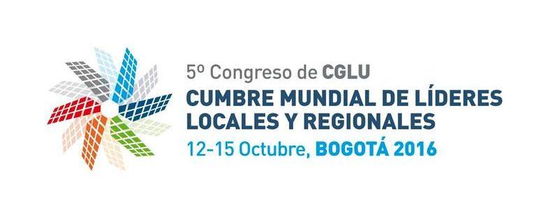 Conferencista – 5°Congreso de CGLU (Cumbre mundial de líderes locales y regionales 2016 (12-15 de Octubre)