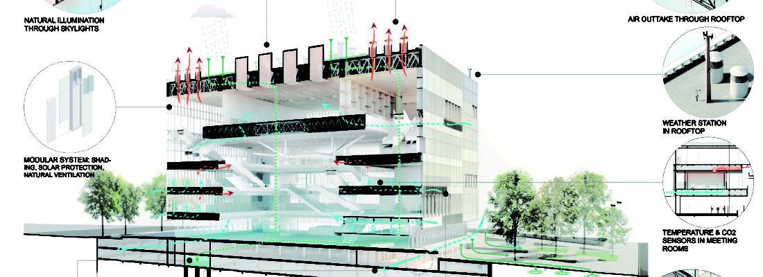 Distinción, 2014 AcknowledgementHolcim awards forSustainable Construction LA Agora Bogotá. Estudio Herreros & Bermúdez. Diseños paisajísticos.