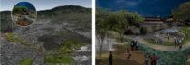 Parque de río de montaña en Pasto