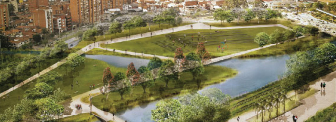 Diana Wiesner Arquitectura y Paisaje E.U.<br> Gustavo Restrepo L.<br>Corkery Consulting