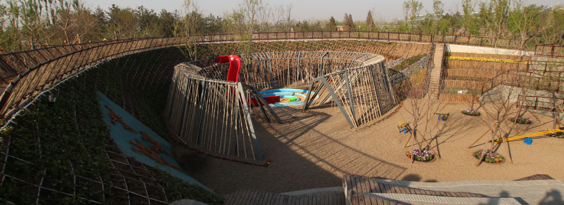 World Art Landscape Exposition<br>Premio Diseño y Construcción 2013<br>Jinzhou, China